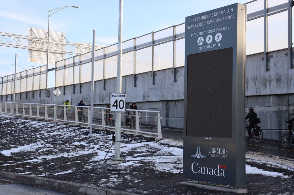 Opening of the Samuel De Champlain multi-use path – December, 23rd 2019