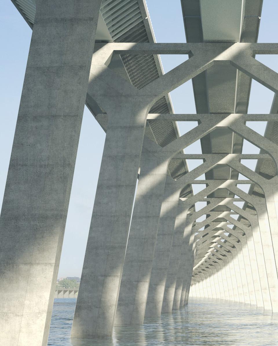 La qualité visuelle de l'infrastructure du nouveau pont Champlain