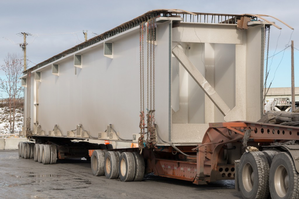 Transportation – Heavy parts delivery